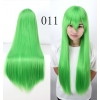 color 11multi colors cos wigs cosplay cartoon girl wigs