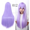 color 12multi colors cos wigs cosplay cartoon girl wigs
