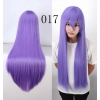 color 17multi colors cos wigs cosplay cartoon girl wigs