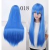 color 18multi colors cos wigs cosplay cartoon girl wigs
