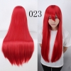 color 23multi colors cos wigs cosplay cartoon girl wigs
