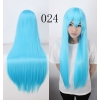 color 24multi colors cos wigs cosplay cartoon girl wigs