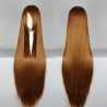 color 13100cm,long straight high quality women's wig,hairpiece,cosplay wigs