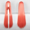 color 14100cm,long straight high quality women's wig,hairpiece,cosplay wigs