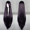 color 21100cm,long straight high quality women's wig,hairpiece,cosplay wigs