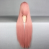 color 6high quality Anime wigs cosplay girl wigs 80cm
