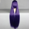 color 13high quality Anime wigs cosplay girl wigs 80cm