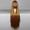 color 24high quality Anime wigs cosplay girl wigs 80cm