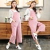 Pinkpink casual loose pregnant women maternity jumpsuit pant