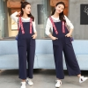 Steel Bluecasual loose comfortable pregnant women pant maternity jumpsuit