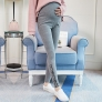 lovely letter printing maternity pregnant jeans belly pant