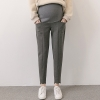Dark Greyfashion spring autumn design maternity pregnant jeans belly pant