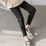 fashion spring autumn design maternity pregnant jeans belly pant