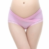color 7sexy lace low waist maternity pregnant panties underwear