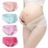 low waist  lace pregnant panties maternity underwear