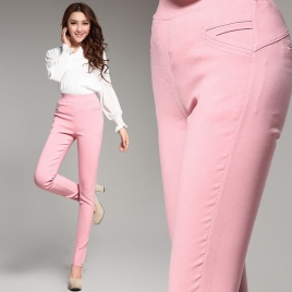 manufacturer outfit high qualiy pencil pant women trousers WPANT-041