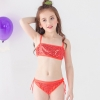 color 1fashion Sequins little girl kid swimwear bikini two piece set