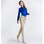 new 2015 cotton fabric straight leg women pant trousers