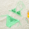 color 5cute cheap little girl bikini teen Sequins swimwear bikini