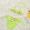 color 6cute cheap little girl bikini teen Sequins swimwear bikini
