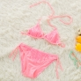 cute cheap little girl bikini teen Sequins swimwear bikini