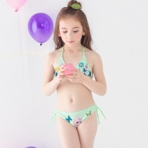 Europe cheap little girl bikini teen swimwear bikini