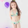 color 1Europe cheap little girl bikini teen swimwear bikini