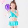 cheap holed little girl bikini teen swimwear bikini