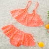color 2cheap holed little girl bikini teen swimwear bikini