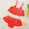 color 3cheap holed little girl bikini teen swimwear bikini
