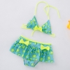 color 2lemon printing little girl teen swimwear