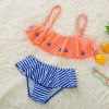 color 4anchor little girl teen swimwear