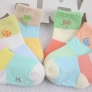 carton film camera print cotton children kid socks