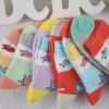 elk printing warm cotton children socks wholesale