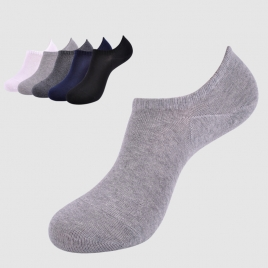 summer mesh comfortable men loafer socks