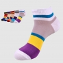 summer casual cotton patchwork sport socks for men loafer sock