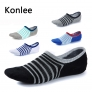 summer design casual fashion stripes socks for men
