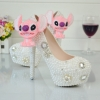lovely dog Pendant party shoes women pumps