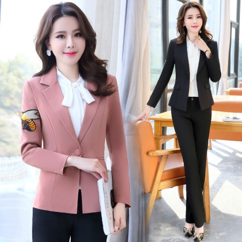 2018 Spring Fashion Office Women Blazer Jacket Tianex