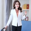 color 32018 spring fashion office women blazer jacket