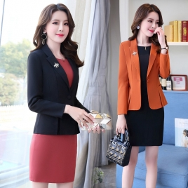 2018 spring formal long sleeve women blazer jacket
