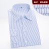 color 8fashion stripes office women clerk shirt uniform