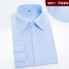 color 12high quality fabric office work lady shirt staff uniform