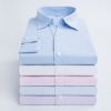fashion stripes office women clerk shirt uniform