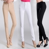 formal office lady women full length pencil pant straight leg pant