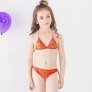 halter flower comfortable girl bikini swimwear