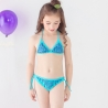 color 2halter flower comfortable girl bikini swimwear