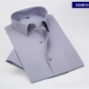 color 6summer gray color short sleeve men shirts