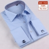 color 9fashion stripes print men shirt  uniform