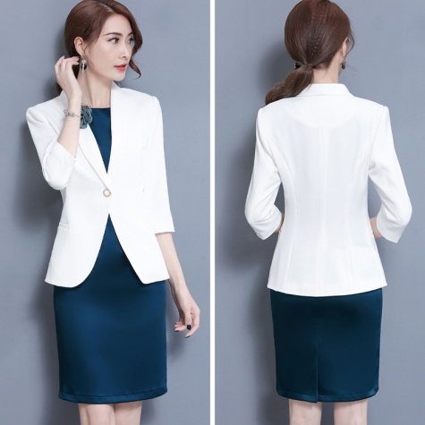 fashion korea casual office business women skirts suits